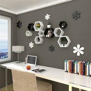 Etagere Salon Design : etagere murale design pour salon id es de d coration int rieure french decor ~ Teatrodelosmanantiales.com Idées de Décoration