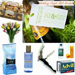 gifts the wedding night gift basket i do pinterest With wedding night gift basket