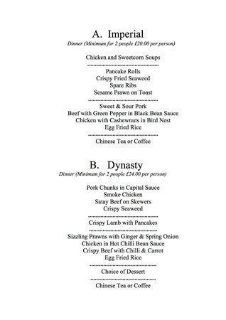 The Cottage Dinner Menu by Dinner Set Menu Picture Of Cottage Clacton On