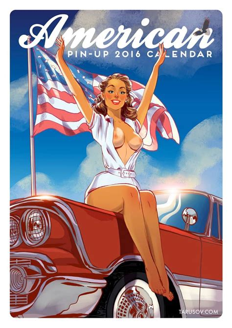 Tarusov American Girl Pin Ups 2016 Calendar Porn Comics