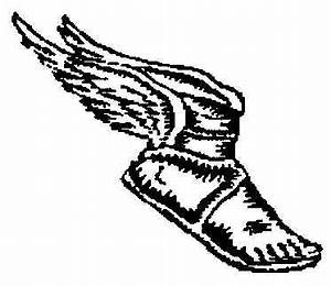 Mythology clipart hermes shoe - Pencil and in color ...