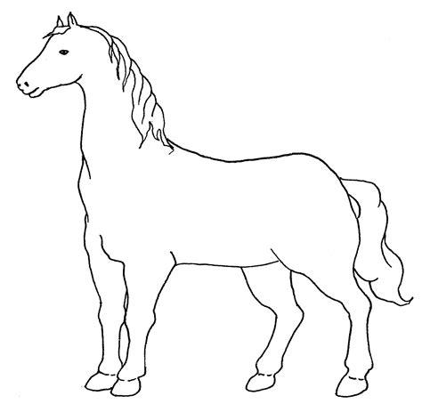 facile bambino cavallo disegno disegno di cavalli che saltano un ostacolo da colorare