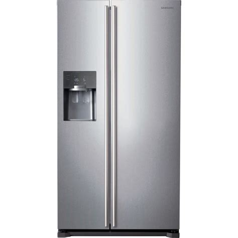 side by side refrigerator reviews samsung rs7567bhcsp 532l freestanding fridge