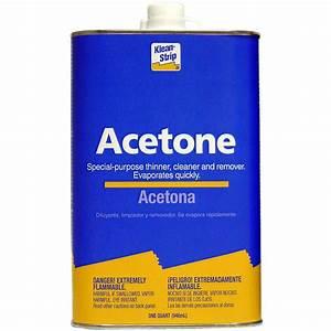 Shop Klean-Strip Quart Acetone at Lowes com
