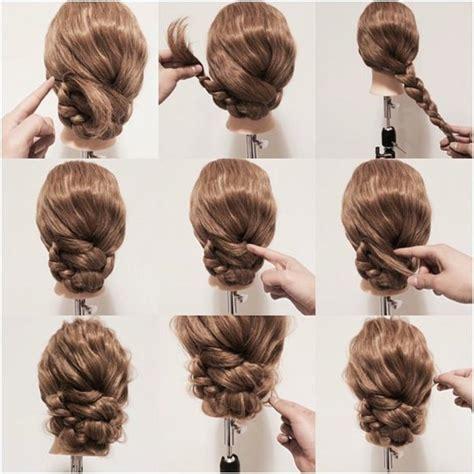 une coiffure simple et rapide 56 variantes en photos et vid 233 os