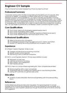 curriculum vitae project engineer engineer cv sle curriculum vitae builder