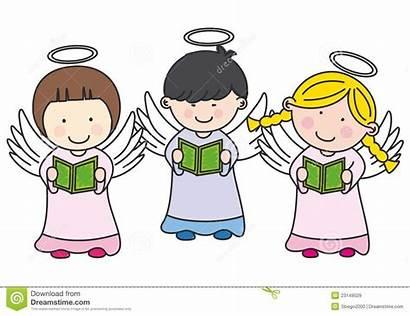 Singing Angels Clipart Boy Angel Christmas Choir