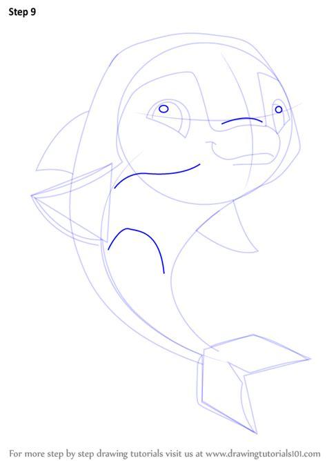 learn   draw dolphin  animal jam animal jam