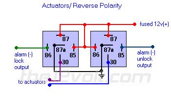 wire power door lock systems add auto lock unlock