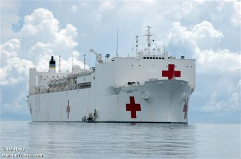 Vessel Details For Usns Mercy (special Vessel) Imo