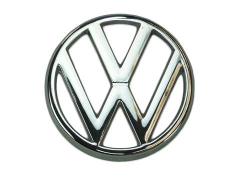 first volkswagen logo emblem vanagon front grille real oe vw gowesty