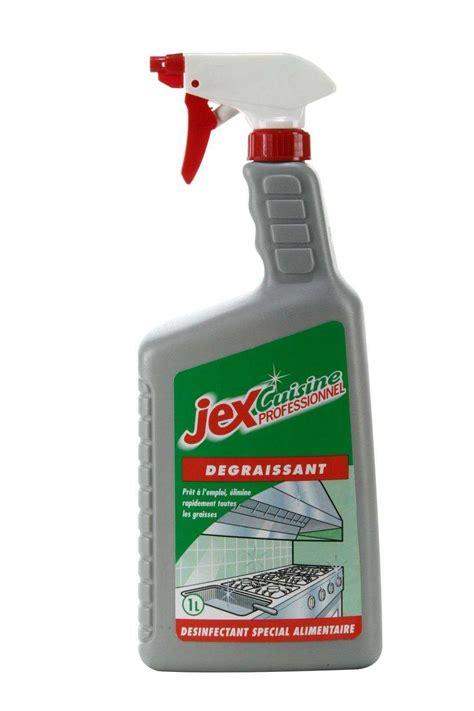 degraissant professionnel cuisine jex professionnel degraissant desinfectant les 2 bidons de