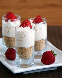 Mini No-Bake Strawberry Cheesecakes | Magic Bullet Blog