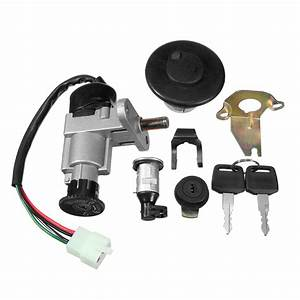 Universal Ignition Switch Key Set 139qmb 50cc Gy6 150cc