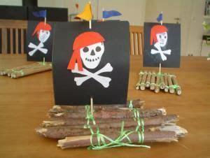piratenfloss natur basteln meine enkel und ich   schwedesignde kindergeburtstag