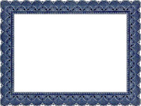 certificate border certificate  craft