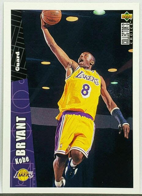 Even more valuable are refractor parallels, which fall 1:12 packs, on average. RED HOT!! 🔥 KOBE BRYANT ROOKIE CARD 1996 UPPER DECK #267 NBA BASKETBALL, LAKERS   eBay