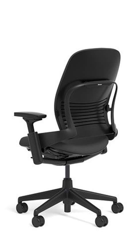 steelcase leap chair black fabric kitchen in the saudi