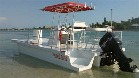 Trimaran Pontoon catamaran coaches pontoon boats