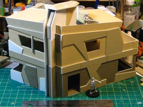 Wirelizard Getting Busy With Cardboard For Infinity