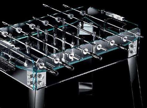 Extravagant Gaming Tables : Krystall Teckell Foosball Table