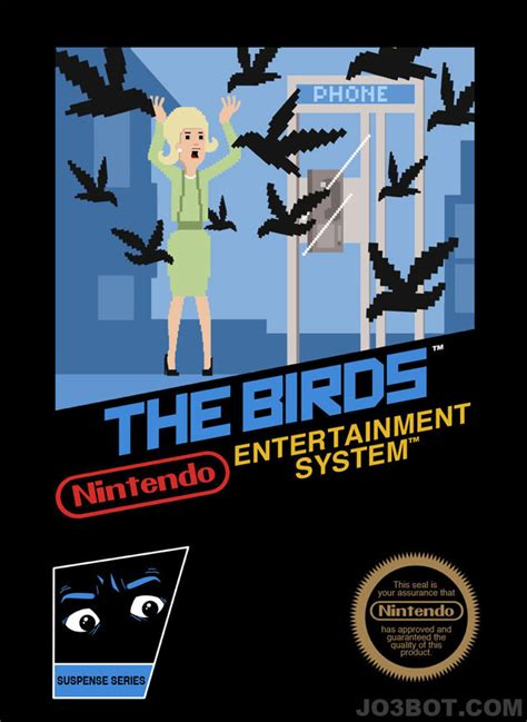 Alfred Hitchcock Movies As Nintendo Game Box Art Geekologie