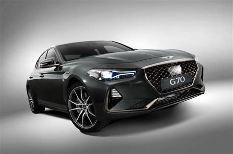 2018 Genesis G70 Sports Sedan Goes Official, Looks Fairly