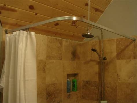ceiling mount shower curtain rod canada home design ideas