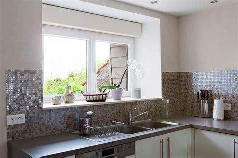 cuisine miroir credence cuisine inox miroir cuisine idées de