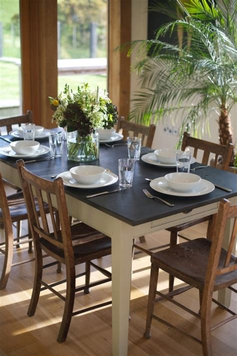 slate kitchen table slate topped kitchen table awesome interiors exteriors