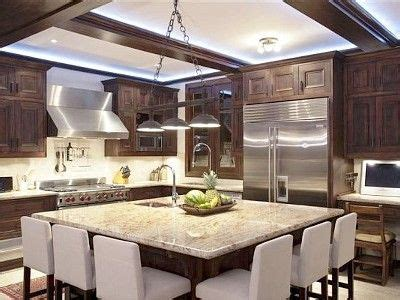big kitchen design ideas large kitchen islands with seating for 6 kitchen has an 4624