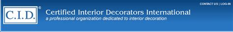 Certifications For Interior Designers by Certified Interior Decorators Cid 187 Human Response And