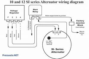 Alternator Wiring Diagram With External Regulator