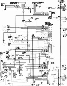 83-84 Hazard  Exterior Body Light Wiring Diagram