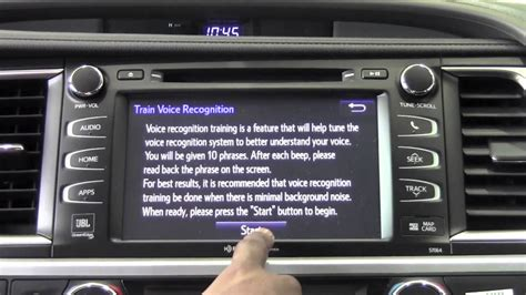Brookdale Toyota by 2014 Toyota Highlander Voice Recognition How To
