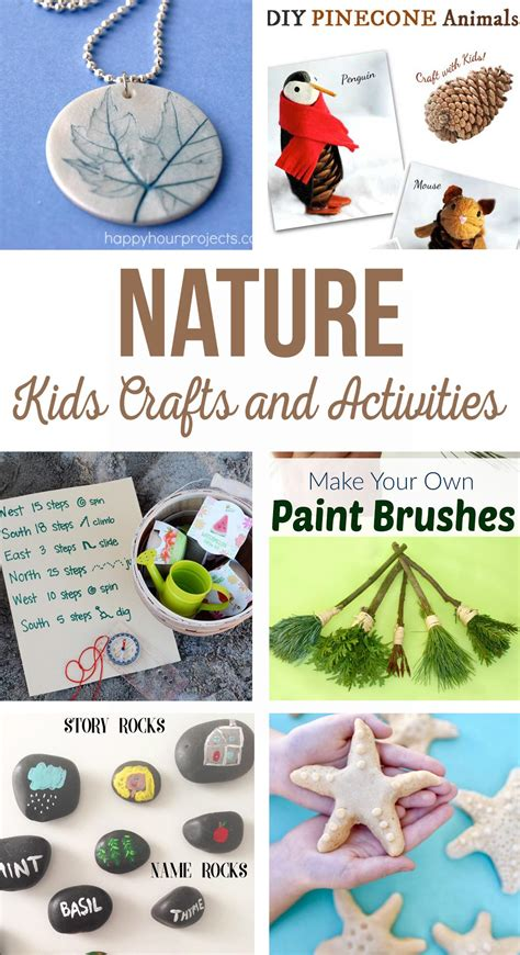 Nature Kids Crafts And Activities  The Crafting Chicks