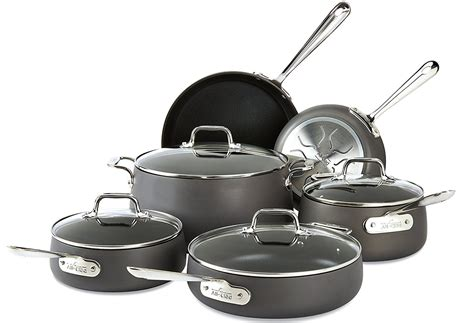 stick non cookware induction clad expensive anodized cheap hard