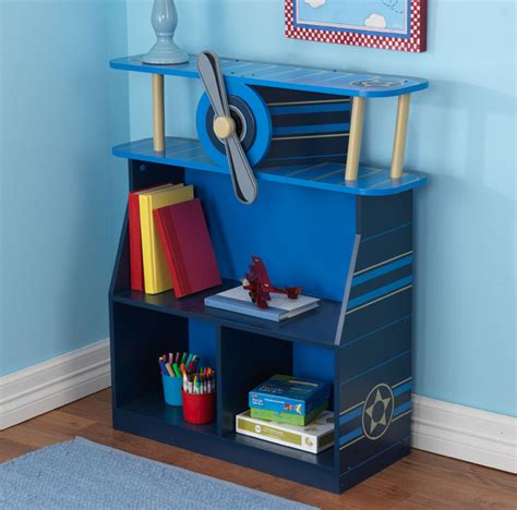 Airplane Bookcase  Kids Airplane Bookshelf Children's
