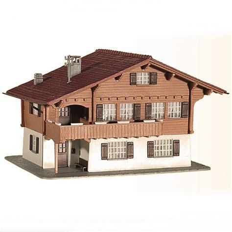 chalet de montagne ho kibri 38805 modelisme ferroviaire et diorama neuf kibri