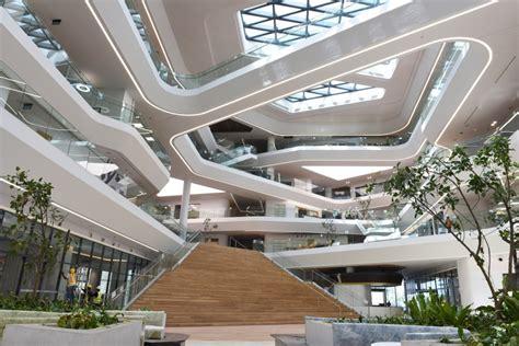 Basement Area by Unilever S Indonesian Head Office Bsd City Tangerang