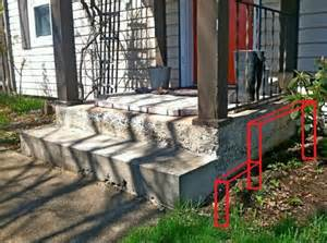 building trex porch over concrete porch with pictures