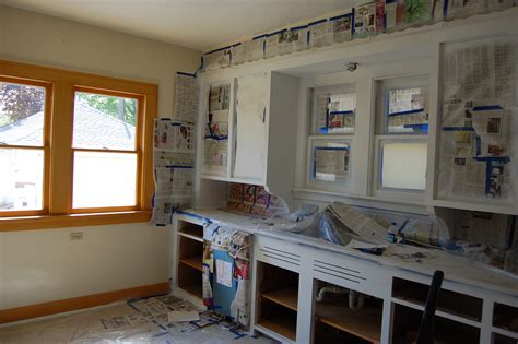how to paint inside kitchen cabinets remodel kitchen design with white painting oak kitchen