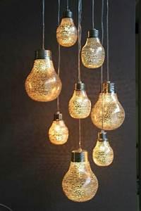 Lampe Mit Zetteln : lampe in gl hbirnenform eine trendige entscheidung ~ Michelbontemps.com Haus und Dekorationen