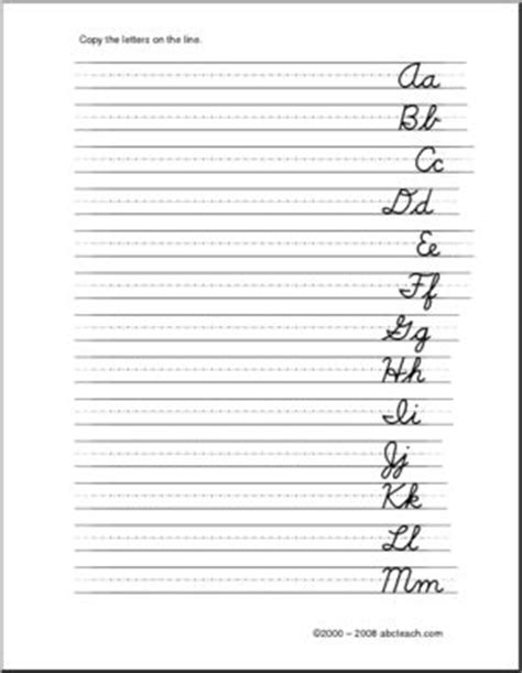Cursive Letters  Left Handed Handwriting  Writing  Dnstyle Font Abcteach