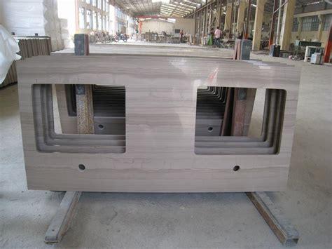 wood vein grey marble vanity tops china guizhou wood