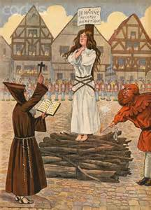Joan of Arc Was Burned at the Stake