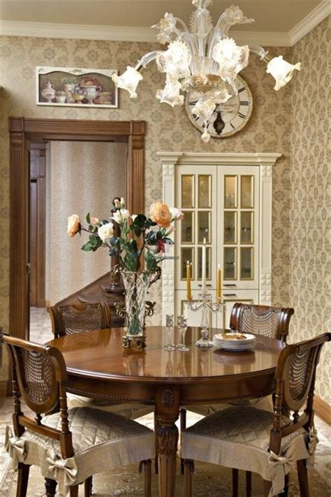 30 Modern Ideas for Dining Room Design in Classic Style