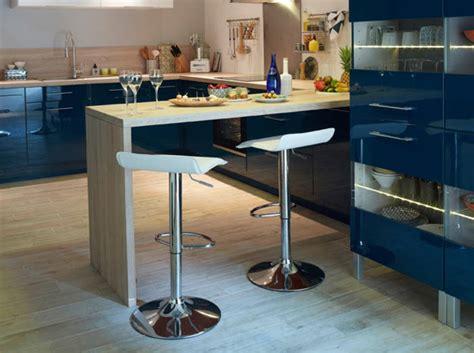 table de bar pour cuisine dites oui au bar côté cuisine décoration