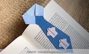 Marque Page En Papier : marque page cravate en papier et pliage travaux manuels enfants pinterest dads bookmarks ~ Melissatoandfro.com Idées de Décoration