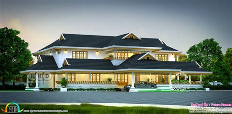 luxury traditional kerala home  sq ft kerala home design bloglovin